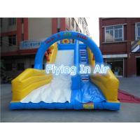 Quality Customized Pvc Children Recreation Inflatable Slide with Blower for Outdoor Game wholesale