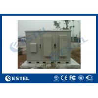 Buy cheap 3 Compartments Outdoor Integrated Base Station Cabinet For Installation Equipment And Battery product