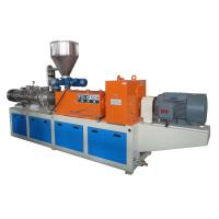 Quality SJZS Twin Screw Plastic Extruder Machinery For Making Pipe / Film / Hollow Profile wholesale
