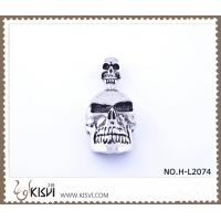 Quality 316 stainless steel pendant with human skull shape H-L2074 wholesale