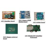 Quality Launch x431 spare parts (screen, mother board, shell, printer, smartbox, cf card) wholesale