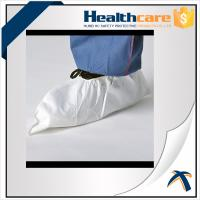 Quality Anti Static Disposable Shoe Cover Non Woven , Slip Resistant Shoe Protectors  wholesale