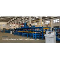 Buy cheap 5M / Min Polyurethane Sandwich Panel Production Line With Max Width 1250mm from wholesalers
