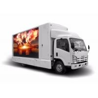 Quality P10mm Movable Truck Mobile Led Display / Outdoor Mobile Led Screen Hire Customized Size wholesale