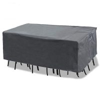 Quality L108inch W82inch Waterproof Patio Furniture Covers , Outdoor Furniture Covers Black wholesale