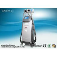 Quality 3 Handles Cryolipolysis Fat Freeze Slimming Machine 8 Inch LCD Touch Screen wholesale