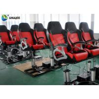 Quality 4D Cinema Theater With Motion Cinema Chair / Home Theater Chair Customized Color wholesale