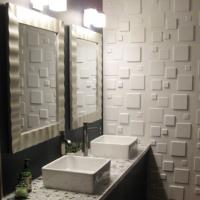 Cheap Soundproof 3d Ceiling Panel Artifical Stone Wall Alternative wall Coverings for Office / Home for sale