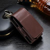 Quality Anti Scratch Leather Ecig Case Holder For IQOS Electronic Cigarette Pouch Bag wholesale
