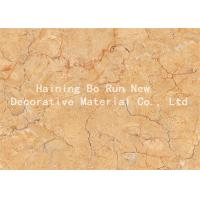 Quality Strong Covering Power Marble Effect Film , Decorative Door Paper Film Non - Toxic wholesale