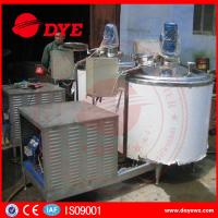 Quality CE Approved Stainless Steel304 refrigerated milk tank milk chilly Machine wholesale