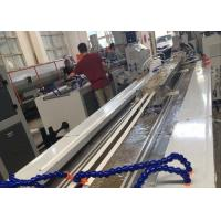 PVC Profile Making Machine / PVC Profile Extrusion Line With Twin Screw Extruder