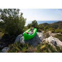 Buy cheap Multi Color Inflatable Sleeping Bag Hangout Laybag Lazy Bag For Travelling / Camping from wholesalers