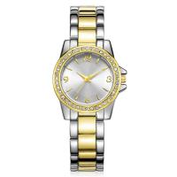 Quality Ladies Watches Design Womens Alloy Fashion Crystal Glass Gold Plated Watch wholesale