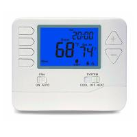 China 2 Heat / 2 Cool 24V AC Digital Room Thermostat Temperature Controller Air Filter on sale