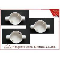 China White Conduit Terminal Box Waterproof PVC Conduit and Fittings Two Way on sale