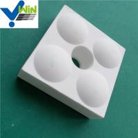 Quality Cheap high temperature resistance alumina oxide ceramic plates tile wholesale