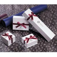 China Small Paper Bracelet Box,  ring  and necklace Jewellery Boxes for promotional gift on sale