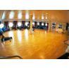 Environmental Friendly Sports Wooden Flooring , Indoor Basketball Tennis Court