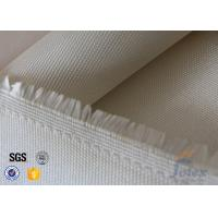 Cheap 0.7mm 600gsm Fire Resistant Fiberglass High Silica Cloth High Purity Hard - Wearing for sale