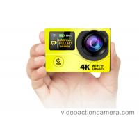 Quality Water Resistant Hd 1080p Action Sports Camera Wifi With 16 Megapixel wholesale