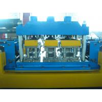 China Gear Box Driving Mental Door Frame Roll Forming Machine 20 Roll Forming Stations on sale