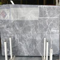 Cheap DORA Grey Cloud Gray Gris / Blue Natural Marble Tile And Slab For Flooring for sale