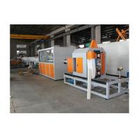 Quality 380v 50HZ 3P PVC Pipe Extrusion Line Plastic Pipe Extruding Machine High Capacity wholesale