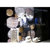 China Store Decorative Resin Coin Retro Style Window Display Customized Decorations on sale