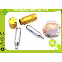 Quality Drinking Water Specialty Gas Equipment 12G Co2 Cartridge Fe Zinc Galvanized wholesale