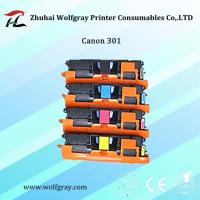 China Compatible for Canon301BK toner cartridge on sale