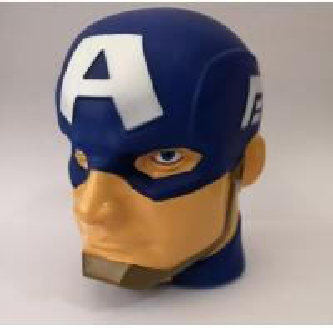 China 3D Marvel Captain America Night Light / Blue Battery Captain America Led Light on sale