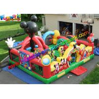 Quality Mickey Mouse Amusement Toys , Jumping Bouncer Funcity With PVC wholesale