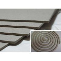 Cheap Solid 1500gsm Unbleached Grey Board Raw Material for Mosquito Coil for sale