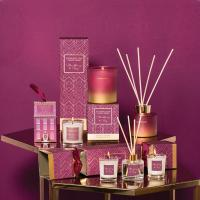 Quality Custom Fragrant Candle And Diffuser Gift Set 120ml Capacity With Natural Essential Oil wholesale