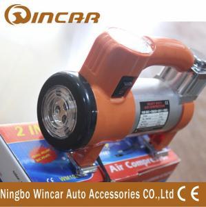 Quality 100 Psi 12V Portable Air Compressor pump / Super Mini Car Inflator Pump wholesale