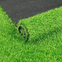 Quality 10mm Height Green Real Looking Artificial Grass 10000dtex Decoration For Music Band wholesale