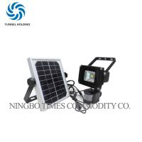 Quality 10W Solar Motion Sensor Flood Light , Super Bright LED Outdoor Solar Security Lights wholesale