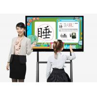 Quality Anti Glare Glass Interactive Screens For Education Whiteboard 3840 × 2160 Resolution wholesale