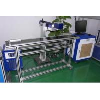 Quality High Precision CO2 Laser Marking Machine For Packing Box / Plastic Button wholesale