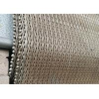 China Duable 310 Herringbone Chain Mesh Belt Corrosion Resistant For Drying Machine on sale