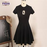 China Fashion cat womens beach wear brand lady dresses one piece latest for women summer skater dress on sale