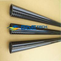 China high strength carbon fiber tube, carbon fiber tubing on sale