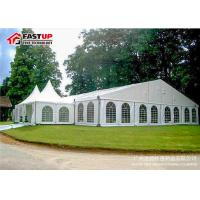 Quality Luxury Wedding Ceremony Tent , Commercial Party Tents With Clear PVC Windows wholesale