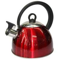 Quality Stainless Steel Whistling Kettle with double bottom wholesale