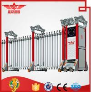 Quality Aluminum Electric Folding Sliding Gate Professional Manufacturer-L1516 wholesale