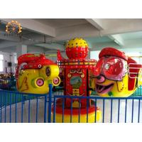 Quality Big Eye Plane Kids Amusement Ride Accommodates 8 People 4 X 4 Meter Area wholesale