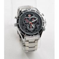 Quality Spy camera watch 1080P Stainless Steel with good features 4GB - 32GB Memory wholesale