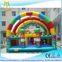 China Hansel giant buy used inflatables playground for commercial for children on sale