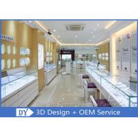 Cheap Attractive Jewellery Counter Display / Gold Shop Counter Design for sale